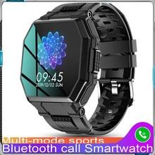 2021 Full Touch Screen Smart Watch Sports Bluetooth Call Watch Blood Pressure Monitor Message Reminder Business Smartwatch Men
