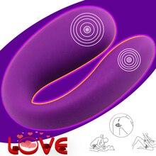 U Type Dildo Vibrator for Women Waterproof G-Spot Anal Pussy Vibrator