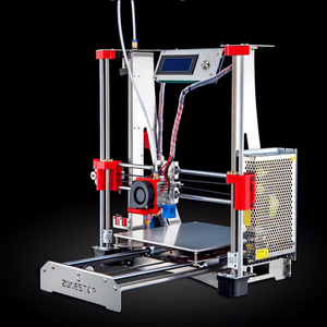 Image 3 - Hot Sale Dual Extruder Stainless Steel Frame Open Source Optional Auto Level Laser Engraving Cheap 3D Printer DIY Kit Free Ship