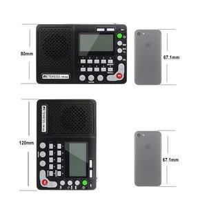 Image 5 - Retekess TR102 휴대용 라디오 FM/AM/SW 세계 밴드 수신기 MP3 플레이어 REC 레코더 수면 타이머 블랙 FM 라디오 레코더