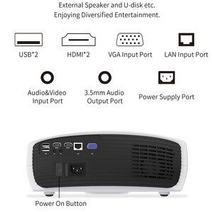 Image 4 - Smartldea Bauen in Android 9,0 2G + 32G Wifi Projektor nativen 1920x1080P Full HD video spiel Proyector LED 3D heimkino Beamer