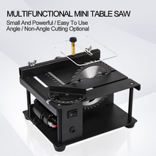 Mini Table Saw Woodworking PVC Household DIY Crafts Cutting Portable Sliding Table Chainsaw Multifunctional Mini Cutting Machine