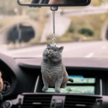 Ozdoby samochodowe ozdoby wnętrza samochodu ozdoby dla zwierząt ozdoby samochodowe dla kota akcesoria do dekoracji wnętrz nowość tanie i dobre opinie CN (pochodzenie) Nowoczesne