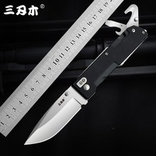 Sanrenmu 9052 Multitool Folding Pocket Knife 12C27 Stainless Steel Blade G10 Handle Outdoor Hunting Camping Survival Utility EDC
