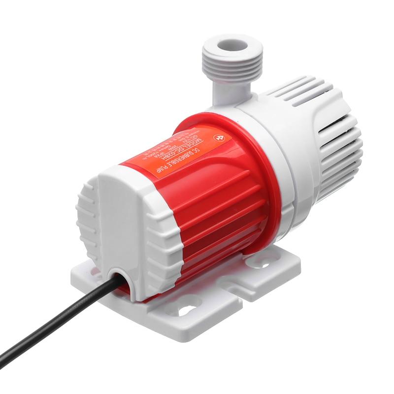12V 1100L/H Max Flow Submersible Pump 5M Max Lift Solar Water Pump Small Size For Fish Tank Aquarium