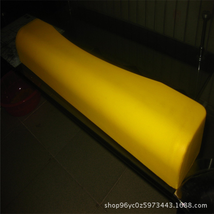 Warning Anticollision Article Yellow And Black PU Polyurethane Foaming Parking Lot Anticollision Article L-Shape D-Shaped Groove