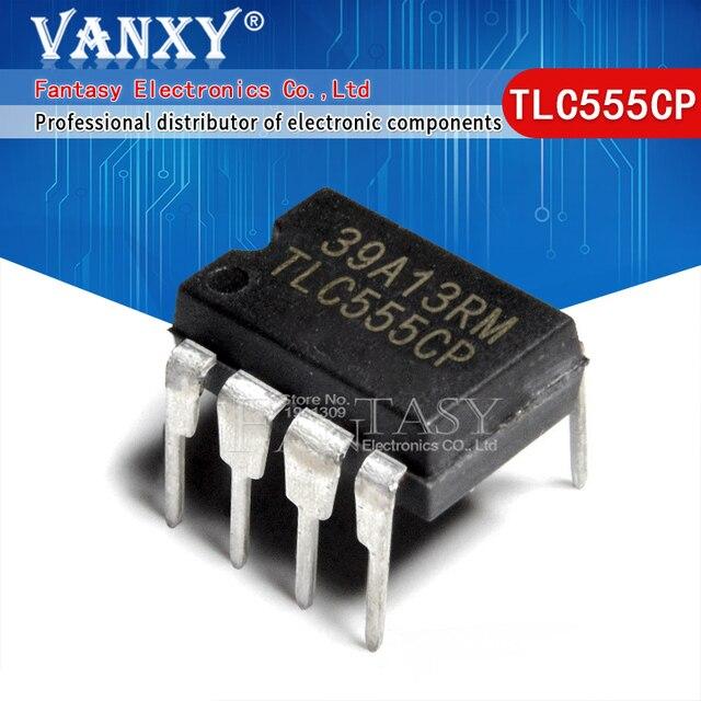 Новые и оригинальные TLC555CP DIP8 TLC555 DIP 8 555CP DIP TL555CP, 10 шт.