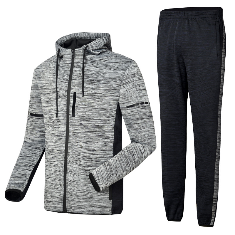 Korean-style Fashion Long Sleeve Sports Set Men's Casual Sports Clothing Set Jogging Suits Leisure Suit