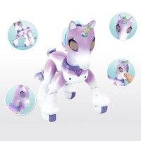 KaKBeir – Robot licorne cheval à Induction pour enfants, modèle électrique Intelligent, animal mignon et créatif, avec télécommande