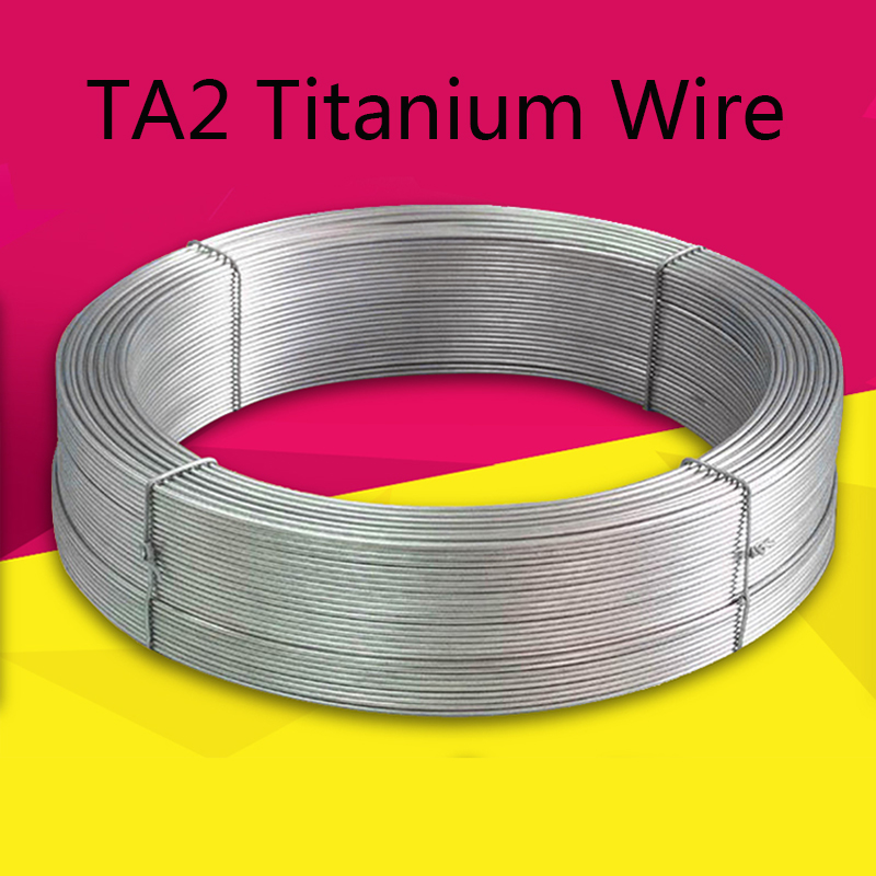 Pure Titanium Wire Disc TA2 Diameter 0.5 0.8 1 1.5 2 2.5 3 4 6 Mm Ti  Alloy Alloy Strip Cable Industry Experiment DIY Material