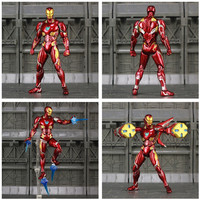 Iron Man Action Figure Mark 50 Armor Avengers Infinity War Edition 6inch. 6
