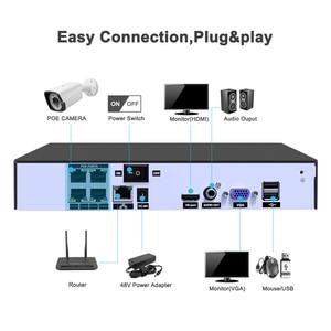 Image 2 - 4CH 1080P HDMI POE NVR Kit CCTV Security System IR Outdoor Audio IP Camera P2P Video Surveillance IP66 Waterproof Set