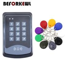 Клавиатура дверь RFID система контроля доступа устройство машина 125 кГц RFID безопасность близость входной дверной замок