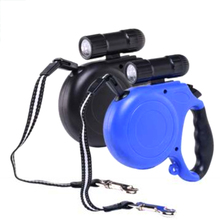 5M LED glare Flashlight Automatic Retractable Telescopic Traction Rope Belt Dog Leash