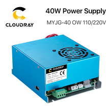 Cloudray 40W CO2 Laser Power Supply 110V/220V for Laser Tube Engraving Cutting Machine MYJG 40WT Model B MYJG