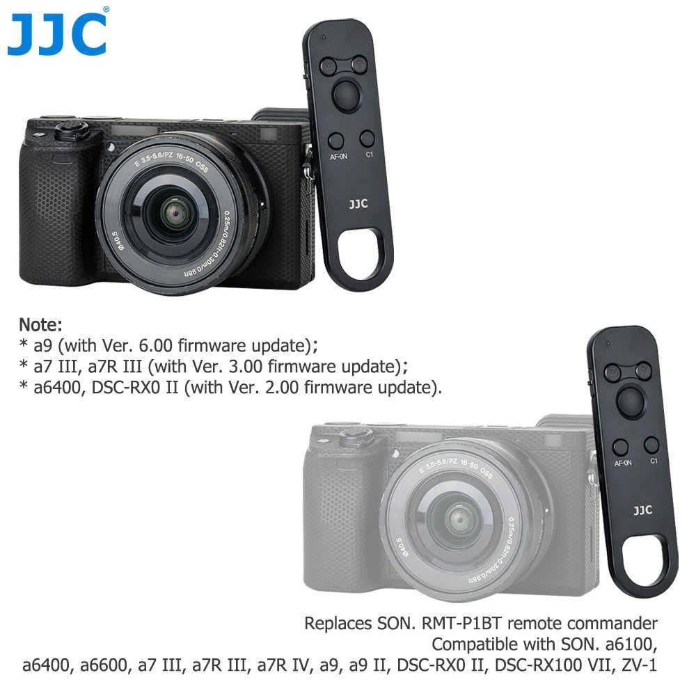 JJC беспроводной пульт дистанционного управления ler для Sony a9 II a7 III a7R III a7R IV a6100 a6600 DSC-RX100 VII Замена RMT-P1BT Commander