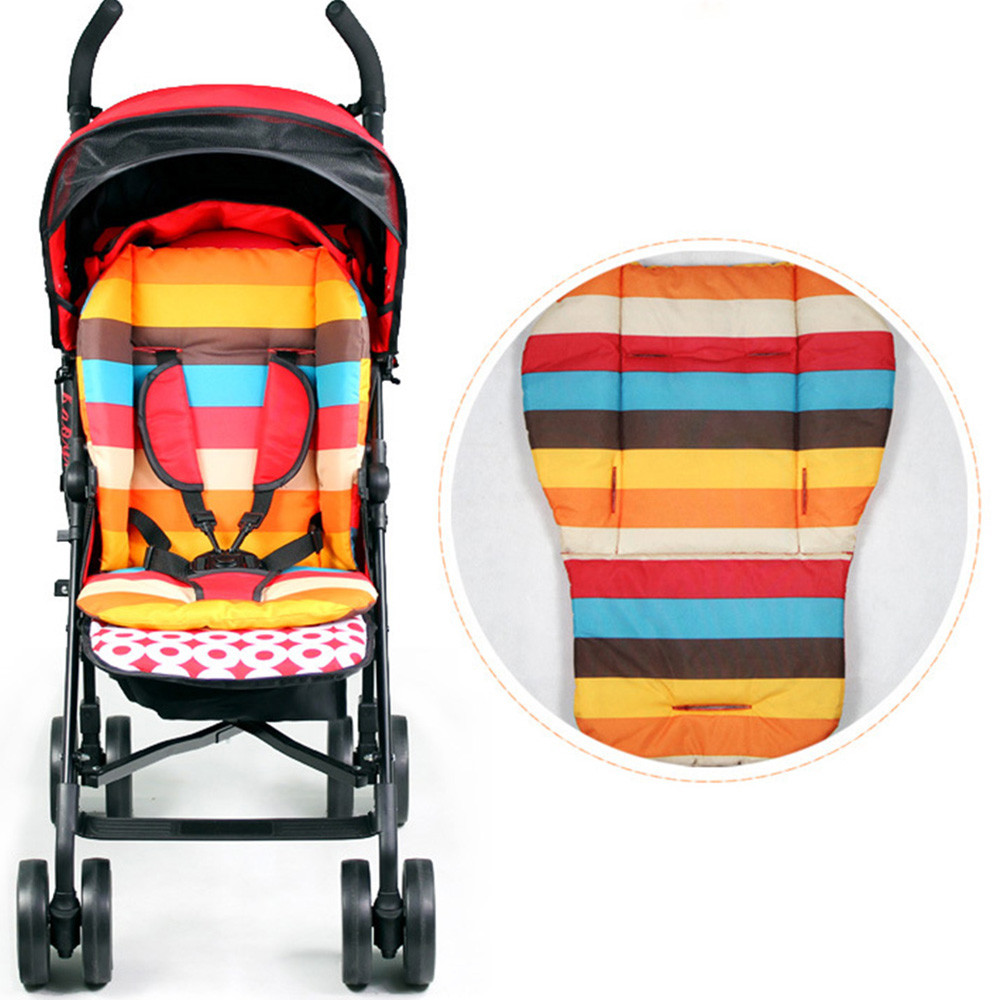 2019 New Single Baby Stroller Seat Universal Children Baby Cart Waterproof Cushion Pads Eat Chair Cushion Pad For 0-2 Years Old