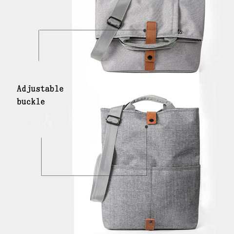 Men Bag Casual Grey Lightweight Oxford 9.7 iPad Tablet Crossbody Bag Male Small Messenger Bag Fashion Bagpack Islamabad