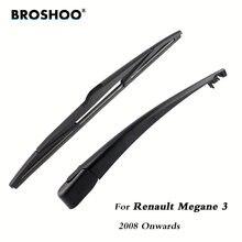 Задние щетки стеклоочистителя broshoo для renault megane 3 (2008