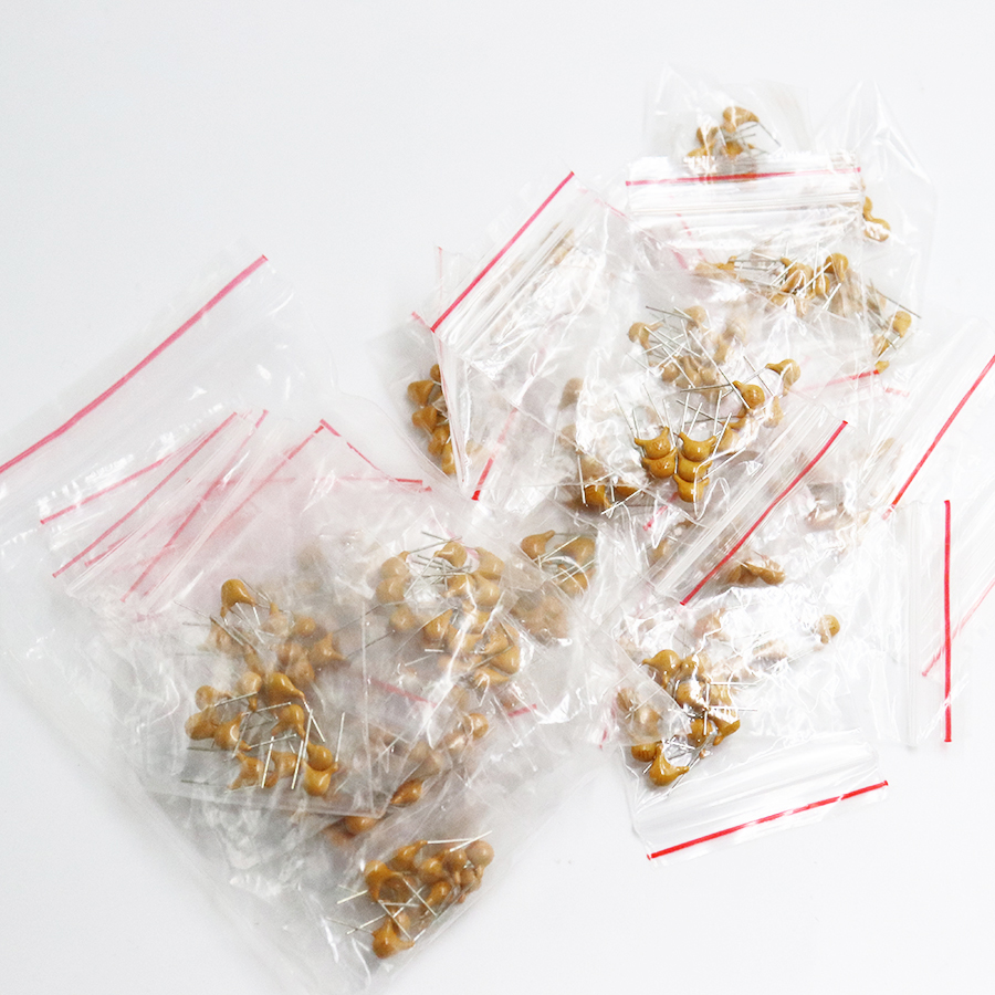 18values*10pcs =180pcs Monolithic Ceramic Capacitor 20pF~1uF,ceramic Capacitor Assorted Kit
