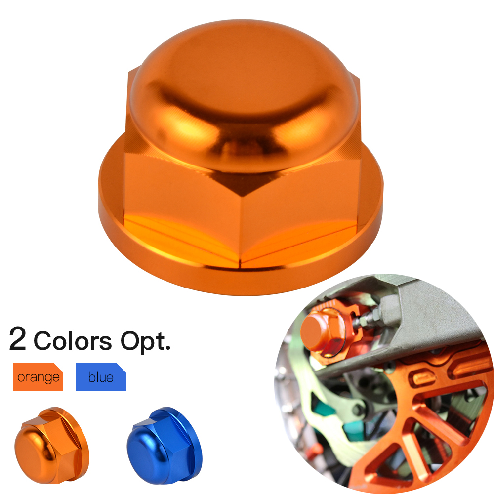 Rear Wheel Lock Spindle Pin Nut For KTM 85 125 150 200 250 300 350 450 500 530 SX SX-F XC XC-F EXC Racing Six Days EXC-F 00-2019