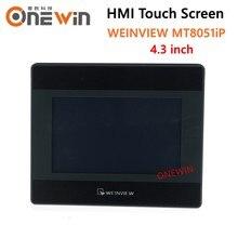 Weinview mt8051ip hmi tela de toque 4.3 polegada 480*272 usb ethernet nova interface da máquina humana exibição