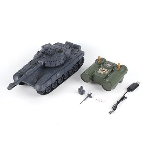 Hot 1:28 RC Tank 27Mhz Infrare