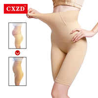 CXZD Women High Waist Shaping Panties Breathable Body Shaper Slimming Tummy Underwear panty shapers