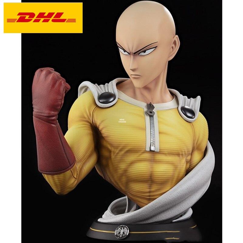 Anime Saitama GK One Punch Man Battle Ver PVC Figure New No Box 30cm