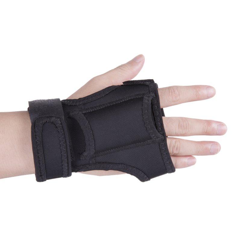 Diving Dive LED Torch Flashlight Holder Soft Black Hand Arm Mount Wrist Strap Glove Hand Free Underwater