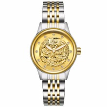 TEVISE High Quality Phoenix Gold Women Mechanical W
