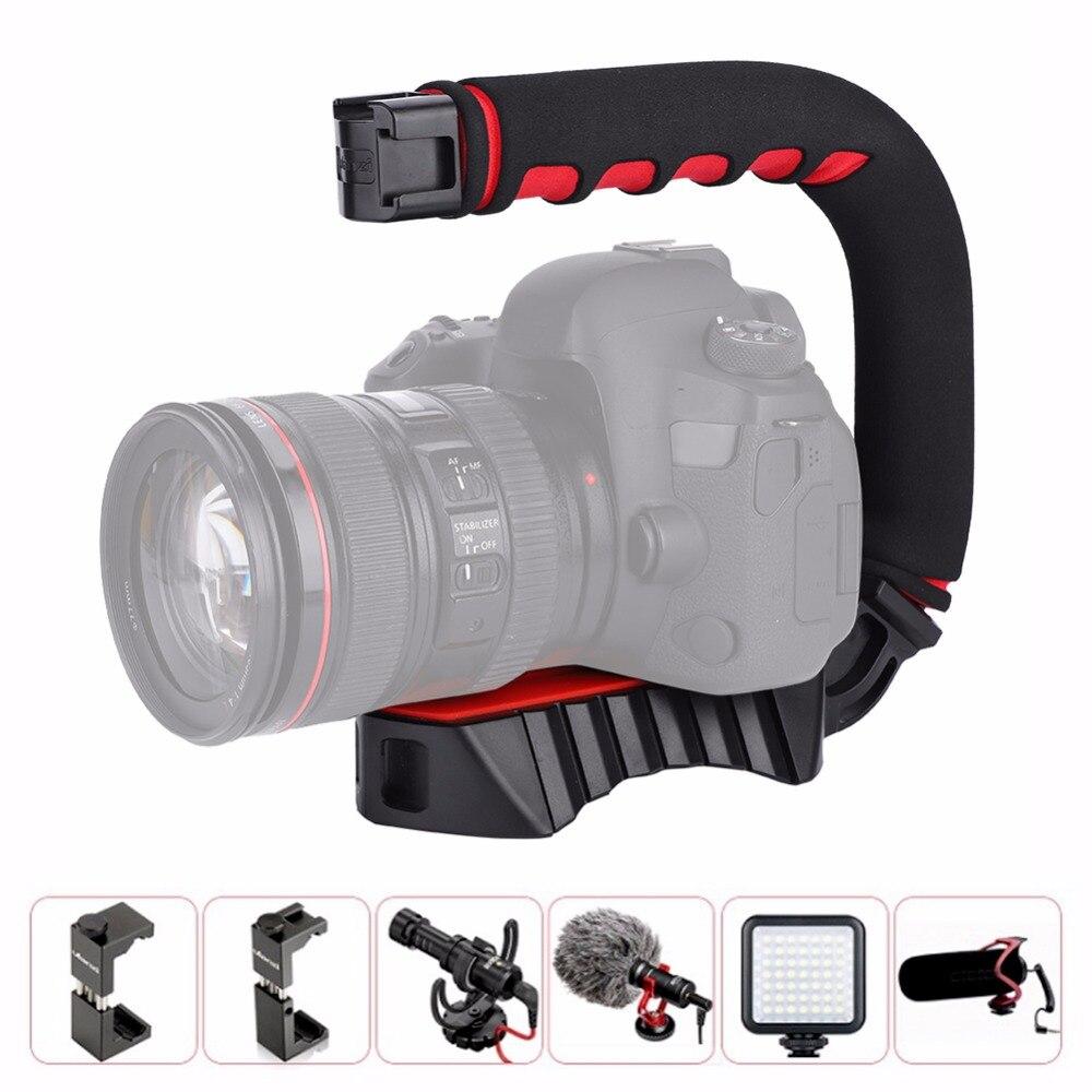 Panasonic Lumix DMC-FZ50 Vertical Shoe Mount Stabilizer Handle Pro Video Stabilizing Handle Grip for