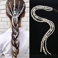 CC заколки для волос заколка для волос с жемчугом заколки длинные повязка на голову свадебные аксессуары для волос для женщин 100% ручной рабо...