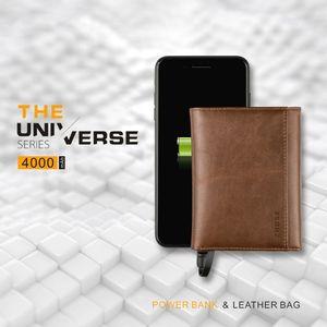 Умный кошелек для мужчин и женщин, с USB-разъемом для зарядки, с Ipone, Android, емкость 4000 мАч, для путешествий, экономия денег, 2019