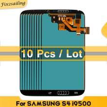 10 unidades/lotes tela incell para samsung galaxy s4 i377 i9500 i9505 i9506 display lcd de toque digitador da tela substituição testado bem