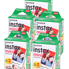 Photo-Paper Instant-Camera Fuji 9-Film White Mini for 11/25/50-/.. Edge-10 20-40-60 100-Sheets/Packs