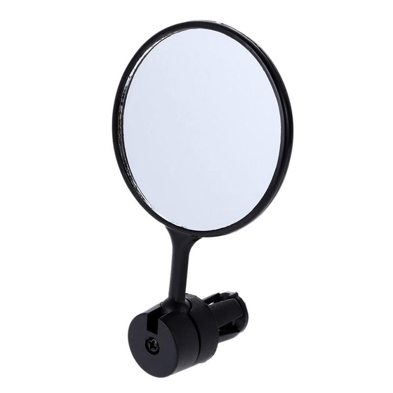 360-degree Adjustable Bike Rear View Mirror Bicycle Handlebar Grip Rearview Glass
