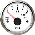 1 шт. 52 мм указатель типа моторного масла манометр модификация 0-10 бар измеритель давления масла 12 В/24 В датчик давления топлива для автомобил...