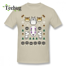 Spirited Away T shirt Organnic Cotton Studio Sweater Homme Tee Shirt For Man Free Shipping Streetwear