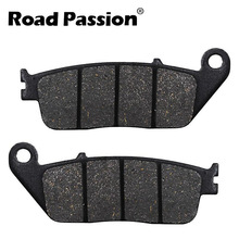 Road Passion Motorcycle Rear Brake Pads For VICTORY Cory Ness Jackpot Hammer 8 Ball S King Pin Tour Low Vegas 2008 2009 2010