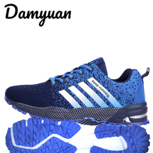 2019 Mens casual shoes mens sports running sneakers Comfortable and breathable