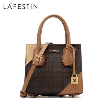 LAFESTIN brand women bag 2019 autumn new luxury handbag fashion shoulder bags crossbody bags for ladies