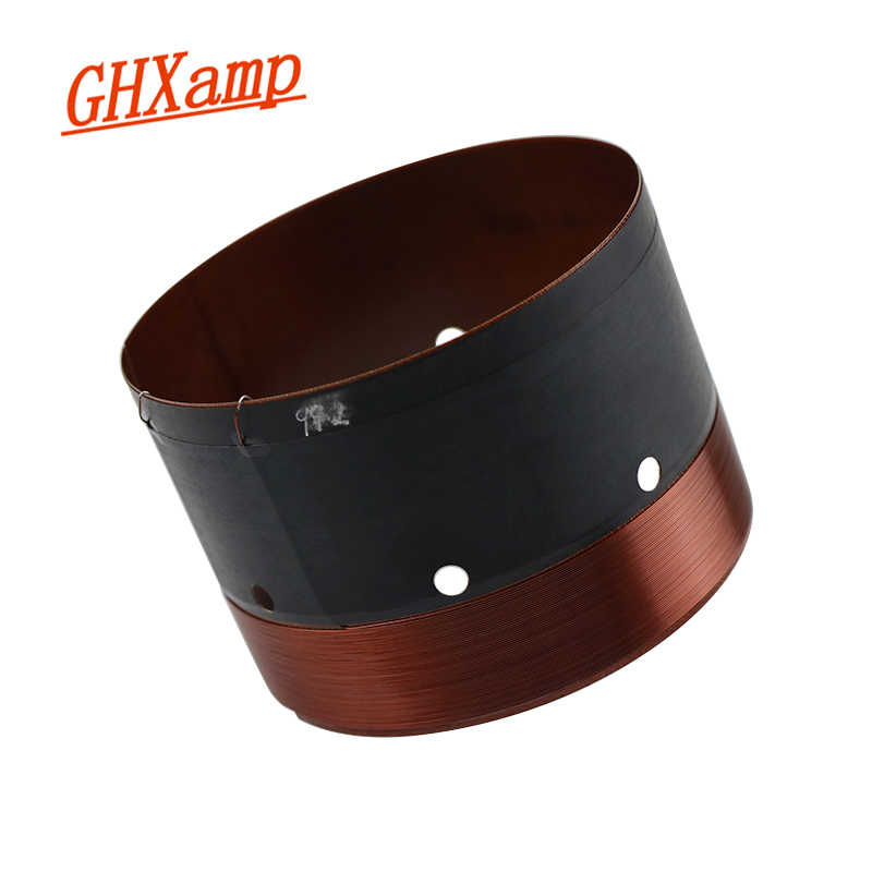 GHXAMP 99.2mm Woofer Voice Coil Bass High power GIL Imported Glass Fber 70mm high Pure copper round wire with sound hole 1pcs