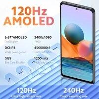 "Global Version Xiaomi Redmi Note 10 Pro Smartphone Snapdragon 732G 108MP Quad Camera 120Hz NFC Cellphone 6.67"" AMOLED DotDisplay 2"