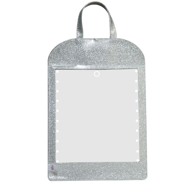 Permalink to led makeup mirror with lights Acrylic material Wall Mirror Decorative Mirror with Hanging Strap Home Decor lighted makeup tool