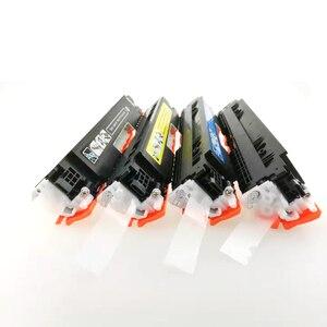 Image 2 - 4PK CE310A CE311A CE312A CE313A 126A Compatibel Kleur Toner Cartridge Voor Hp Laserjet Pro CP1025 M275 100 Color Mfp M175a m175nw