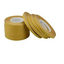50M Double bande latérale adhésif acrylique pour animaux de compagnie sans Trace Film jaune clair fort Transparent emballage papier artisanat carte à la main