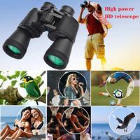 binoculars night vision Powerful telescope HD High power 20X50 telescope for Bird Watching Travel Hunting Daily waterproof Out