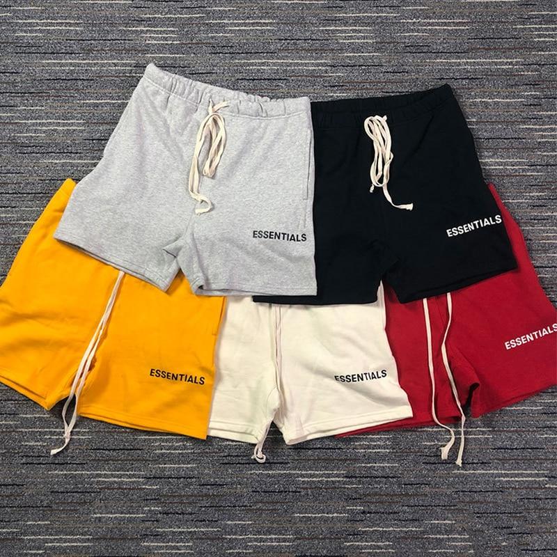 TSINGYI Fog Style Essentials Shorts Justin Bieber High Streetwear Hip Hop Brand Fashion Mens Sweat Harem Shorts