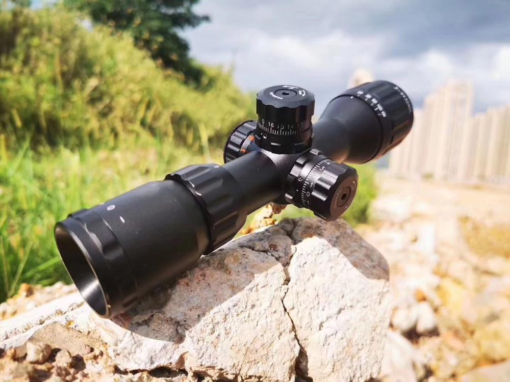 SHOOTER 3-9X32 IR Hunting Riflescopes Adjustable Red Hunting Light Tactical Scope Reticle Optical Rifle Scope Fast Focus